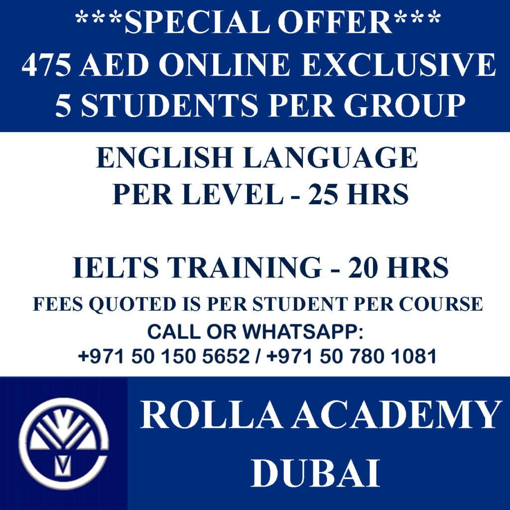 IELTS training Offer