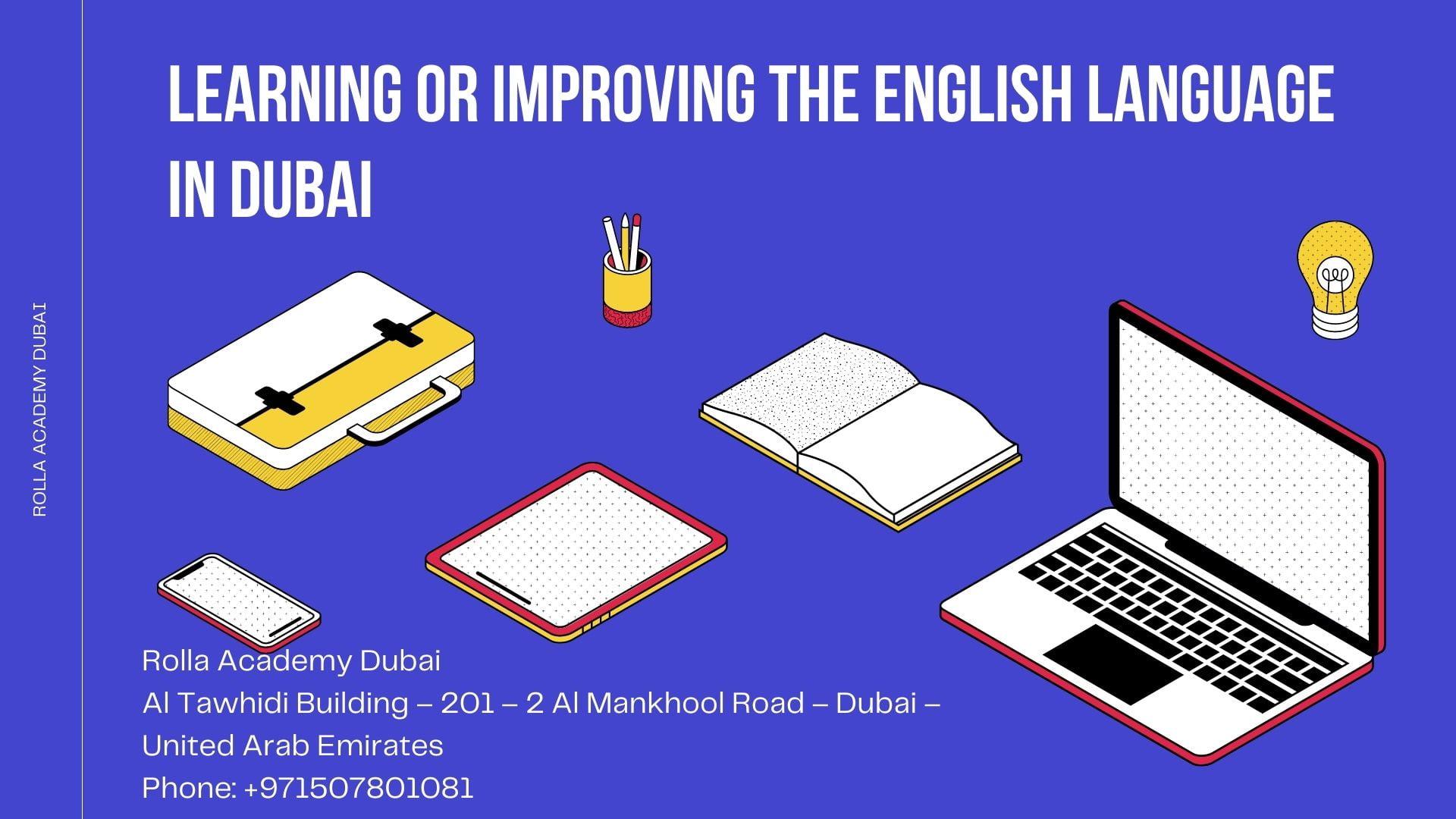 Learning or Improving the English Language in Dubai